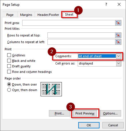 Page Setup Dialog Box #2