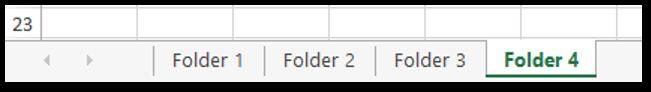 Create Folder based on Excel Worksheet Name Sample