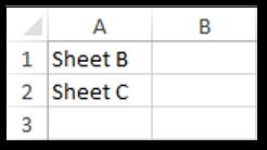 Delete Worksheets based on List Sample