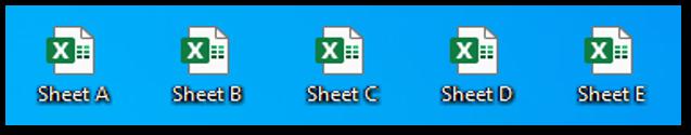 Split each excel worksheet into an excel file or workbook Result