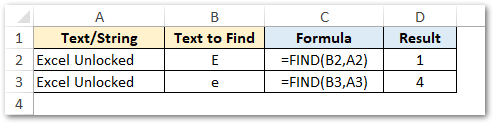 Using cell reference in FIND function