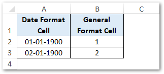Date Stored As Numerical Value