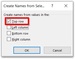 ISREF Function of Excel with INDIRECT Function creating named ranges