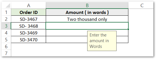 istext function of Excel - Applying data validation text values only step 5
